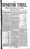 Sporting Times Saturday 18 March 1865 Page 1