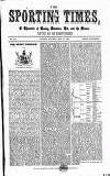 Sporting Times Saturday 27 May 1865 Page 1