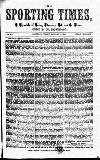 Sporting Times Saturday 13 January 1866 Page 1