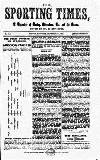 Sporting Times Saturday 01 September 1866 Page 1