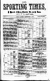 Sporting Times Saturday 29 September 1866 Page 1
