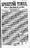 Sporting Times Saturday 27 July 1867 Page 1