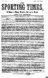 Sporting Times Saturday 02 May 1868 Page 1