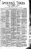 Sporting Times Saturday 11 January 1896 Page 1