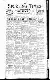 Sporting Times Saturday 01 January 1927 Page 1