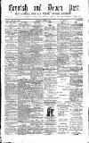 Cornish & Devon Post Saturday 16 October 1880 Page 1