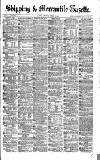 Shipping and Mercantile Gazette Saturday 02 October 1869 Page 1