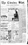 Evening Star Tuesday 07 November 1905 Page 1