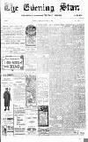 Evening Star Thursday 09 November 1905 Page 1