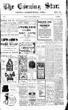 Evening Star Thursday 23 November 1905 Page 1