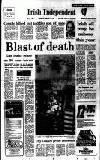 Irish Independent Friday 02 January 1987 Page 1