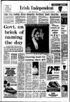 Irish Independent Friday 09 January 1987 Page 1