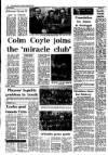 Irish Independent Thursday 29 January 1987 Page 20