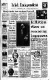 Irish Independent Thursday 07 September 1989 Page 1