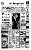 Irish Independent Tuesday 21 November 1989 Page 1
