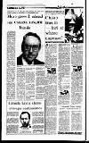 Irish Independent Friday 19 January 1990 Page 8