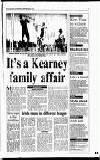 It's a Kearney family affair