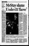 McStay slams Under 21 'farce'