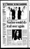 Nadine would do it all over again