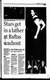 Stars get in a lather at Baftas ITS A WASHOUT: Actresses, Includes Oddest Joess's Zahrogger MOO had to blade dm*