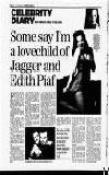 Jagger and Edith Piaf