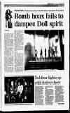 Bomb hoax fails to dampen Doll spirit