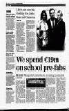 spend €l9m on school pre-fabs FEARS: