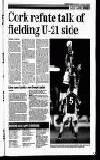 Cork refute talk of fielding U-21 side