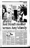 t ,~ ter, WAR OF WORDS: 'I can't remember Amy ever getting .,, a telephone call at my home from