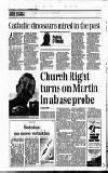 ABUSE SCANDAL EVENING Catholic dinosaurs mired in the past
