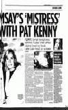 the Late Late where she flirted with host Pat Kenny