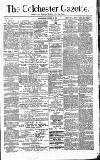 Colchester Gazette Wednesday 13 October 1880 Page 1