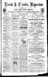 Herts & Cambs Reporter & Royston Crow Friday 18 January 1878 Page 1