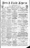 Herts & Cambs Reporter & Royston Crow Friday 30 August 1878 Page 1