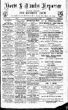 Herts & Cambs Reporter & Royston Crow Friday 13 September 1878 Page 1