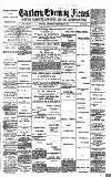Eastern Evening News Wednesday 23 December 1891 Page 1