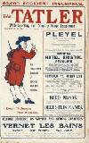 The Tatler Wednesday 01 January 1913 Page 1