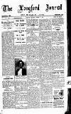 Longford Journal Saturday 12 March 1910 Page 1