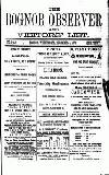 Bognor Regis Observer Wednesday 04 December 1878 Page 1