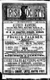Irish Society (Dublin) Saturday 19 January 1889 Page 1
