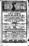 Irish Society (Dublin) Saturday 26 January 1889 Page 1