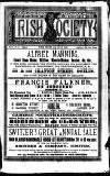 Irish Society (Dublin) Saturday 02 March 1889 Page 1