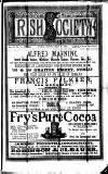 Irish Society (Dublin) Saturday 25 May 1889 Page 1