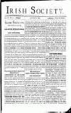 Irish Society (Dublin) Saturday 25 May 1889 Page 7