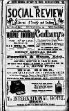 The Social Review (Dublin, Ireland : 1893) Saturday 13 January 1894 Page 1