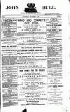 John Bull Saturday 07 November 1885 Page 1