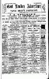 Tower Hamlets Independent and East End Local Advertiser Saturday 08 February 1890 Page 1