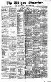 Wigan Observer and District Advertiser Saturday 15 June 1878 Page 1