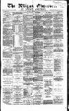 Wigan Observer and District Advertiser Wednesday 05 January 1881 Page 1