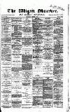 Wigan Observer and District Advertiser Wednesday 03 October 1883 Page 1